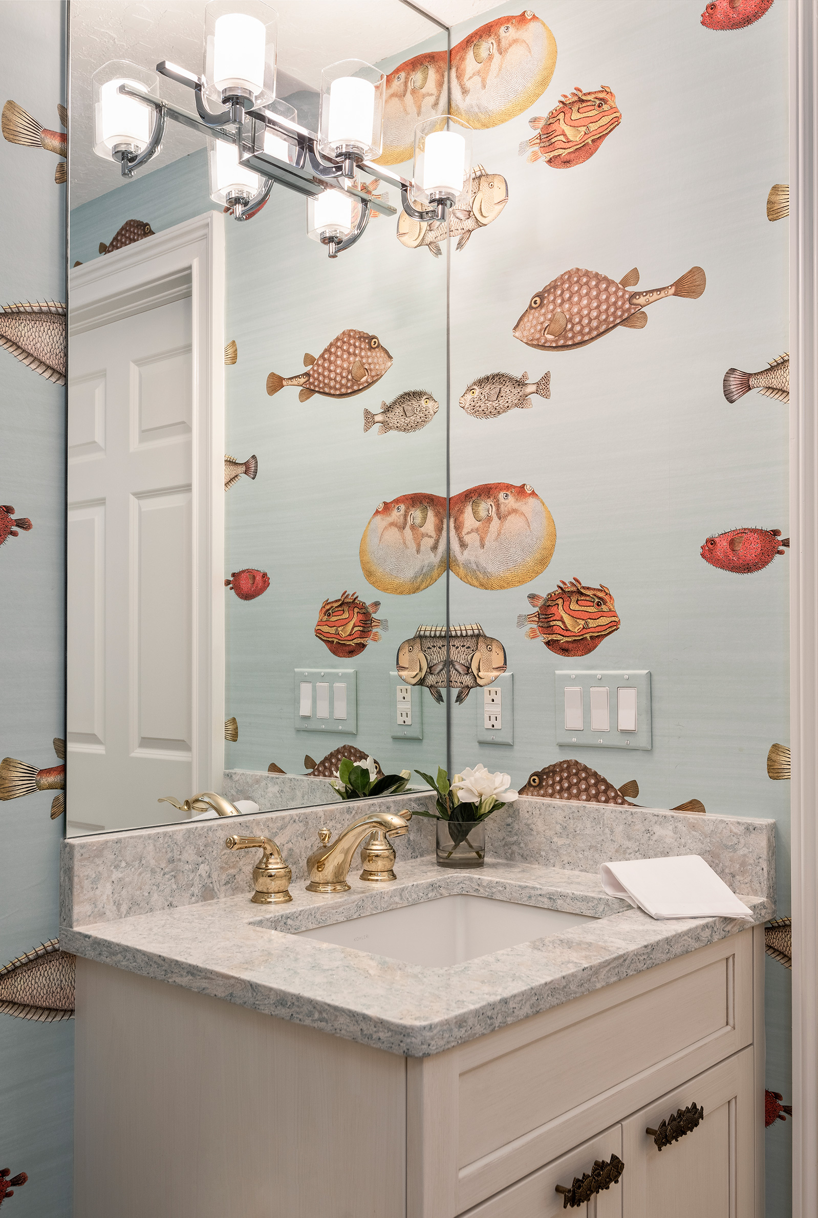 Powder Bath Interior Design